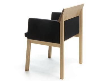 Wooden chair with armrests SEMINAR JRT2