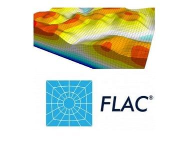 Processing geotechnical, penetrometer test FLAC e FLAC3D