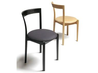 Stackable wooden chair CAFÉ CLASSIC RMS2