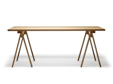 Rectangular wooden table ARKITECTURE PPK1-2-3