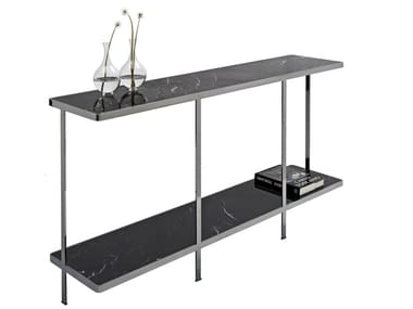 Rectangular metal console table ODILON | Console table