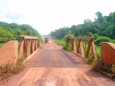 Portable bridge JANSON TRUSS BRIDGES