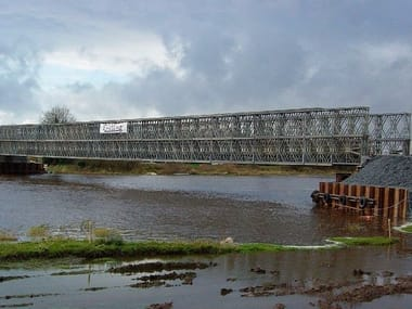 Bridge and modular pontoon JANSON PANEL BRIDGES