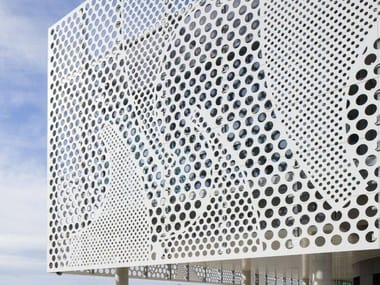 Solid Surface material for façades HI-MACS® for façades