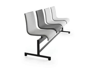 Powder coated steel beam seating ASIA BA | Beam seating