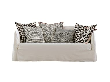 3 seater sofa with removable cover GHOST 10