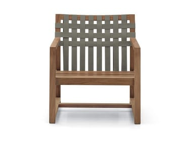 Teak garden armchair with armrests NETWORK 168
