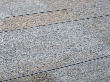 Indoor/outdoor natural stone flooring LUSERNA FIAMMATA MISTA | Natural stone flooring