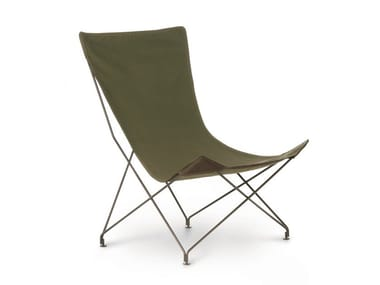 Garden fabric easy chair LAWRENCE | Garden easy chair