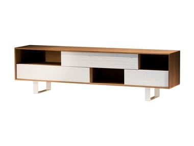 Walnut sideboard with drawers SWEET 61