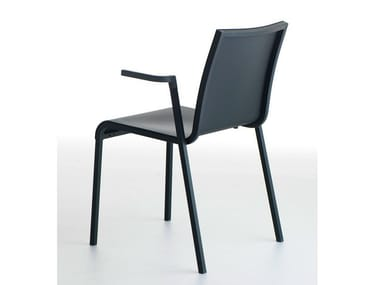 Stackable chair with armrests PERSIA P | Polyurethane chair