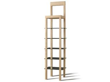 Open ash bookcase ERRANTE | Bookcase