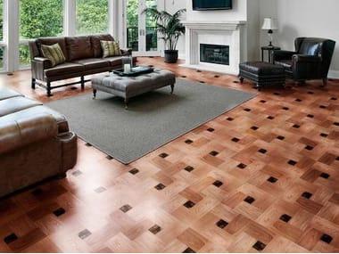 Wooden flooring LINEA WOOD GLASS PARQUET