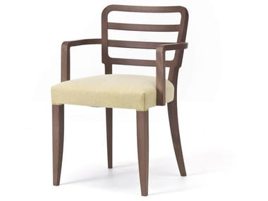 Fabric chair with armrests WIENER 12