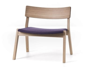Stackable oak armchair FRAME 14 / FRAME OUT 14