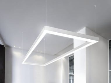 LED extruded aluminium pendant lamp NOLITA OUT