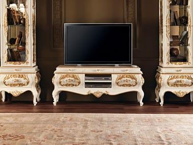Mobile TV in legno massello 11105 | Mobile TV