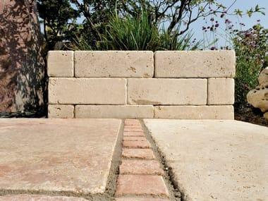 Natural stone load-bearing block TRAVERTINO ROSA