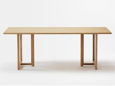 Rectangular beech table SELERI | Table