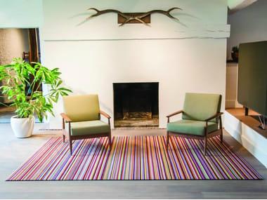 Striped rug BuzziRug Wool