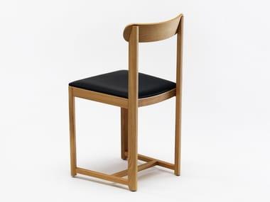Sedia imbottita in legno SELERI | Sedia imbottita