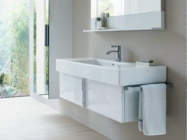 Mobile lavabo singolo sospeso VERO   Mobile lavabo con cassetti