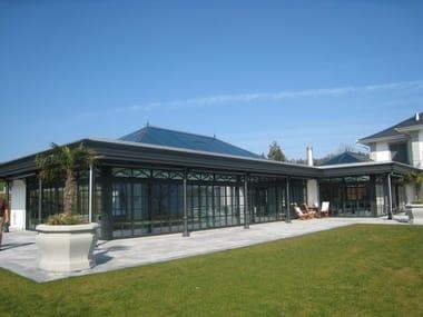 Aluminium conservatory KELLER ORANGERY Elegance®