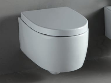 Wall-hung white-paste toilet BOLD | Wall-hung toilet