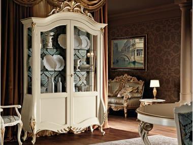 Solid wood display cabinet 11107 | Display cabinet
