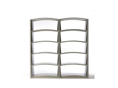 Open freestanding bookcase CHIAVE DI VOLTA