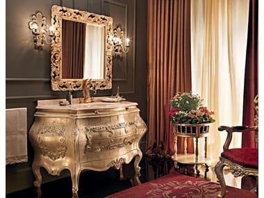Single vanity unit with drawers 11647 | Vanity unit