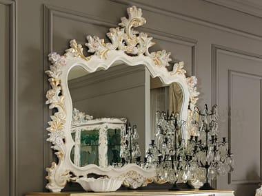 Baroque wall-mounted framed mirror 11625 | Mirror