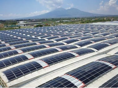 Photovoltaic module for precast reinforced concrete roof b.POWER