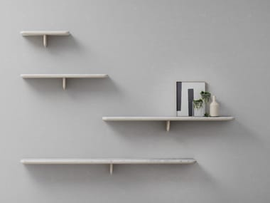 Carrara marble wall shelf EGALA | Carrara marble wall shelf
