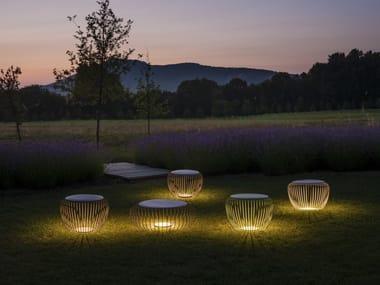 LED steel Floor lamp MERIDIANO