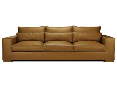 Sectional 3 seater leather sofa ANGEL | Leather sofa