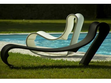 Technical fabric lounge chair / garden bed CALIFORNIA | Lounge chair
