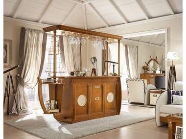 Wooden bar cabinet BAR CARAVELLA | Bar cabinet