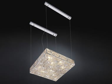 Pendant lamp with crystals ARABESQUE SH