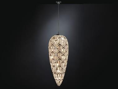 Pendant lamp with crystals ARABESQUE SENSATION