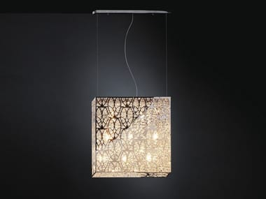 Pendant lamp with crystals ARABESQUE SV