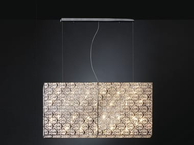 Pendant lamp with crystals ARABESQUE RV