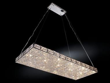 Pendant lamp with crystals ARABESQUE RH