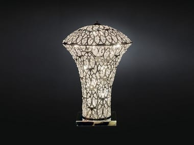 Table lamp with crystals ARABESQUE EXCLAMATION | Table lamp