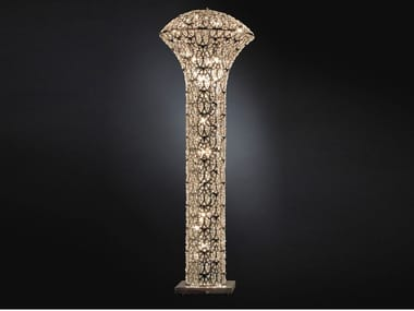 Floor lamp with crystals ARABESQUE EXCLAMATION | Floor lamp