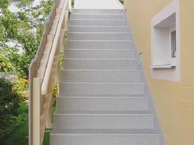 PMMA staircase cladding Triflex TSS