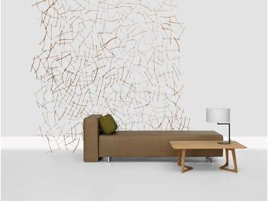 Wooden room divider STRUKTUR