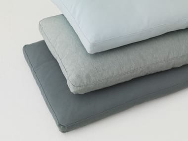 Rectangular fabric sofa cushion PILL
