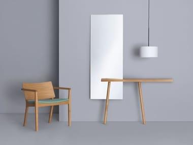 Rectangular wall-mounted mirror CARLO