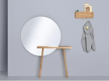 Round wall-mounted mirror CARLA